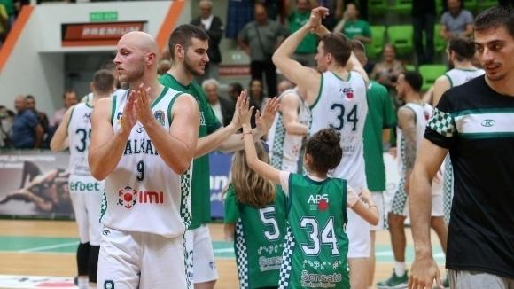 Първенецът на България Балкан победи шведския Сьодертале Кингс с 82:74