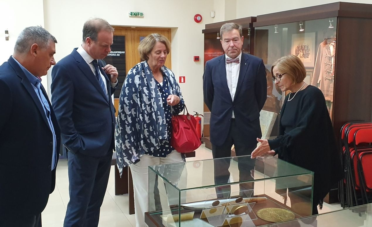 Във втория ден от своето посещение в България ръководството на