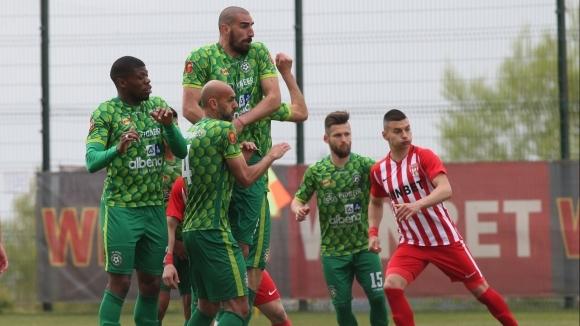 Отборът на Добруджа прегази с 5:0 Черноломец (Попово) в сблъсък
