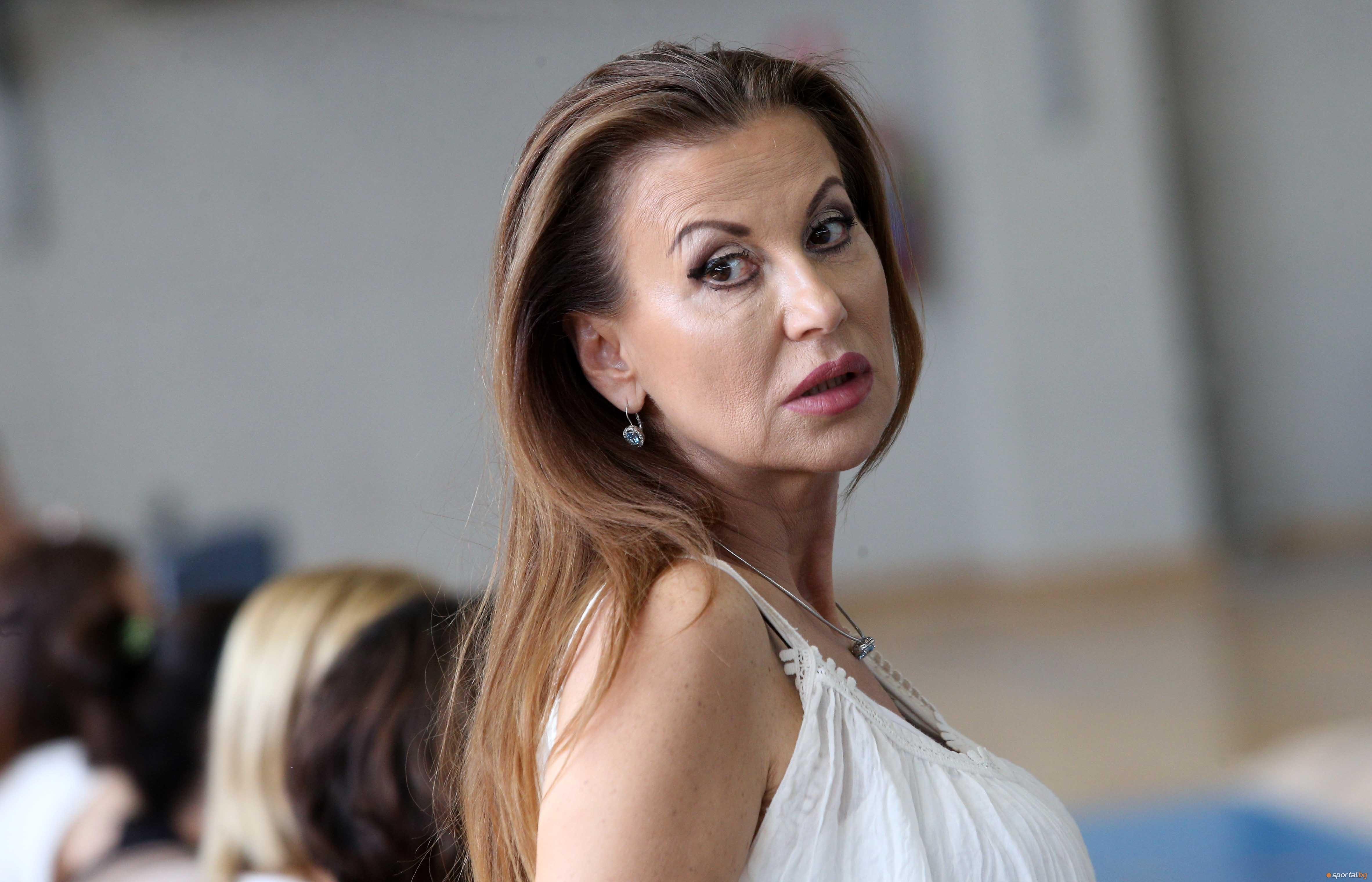 Президентът на Българска федерация по художествена гимнастика Илиана Раева беше