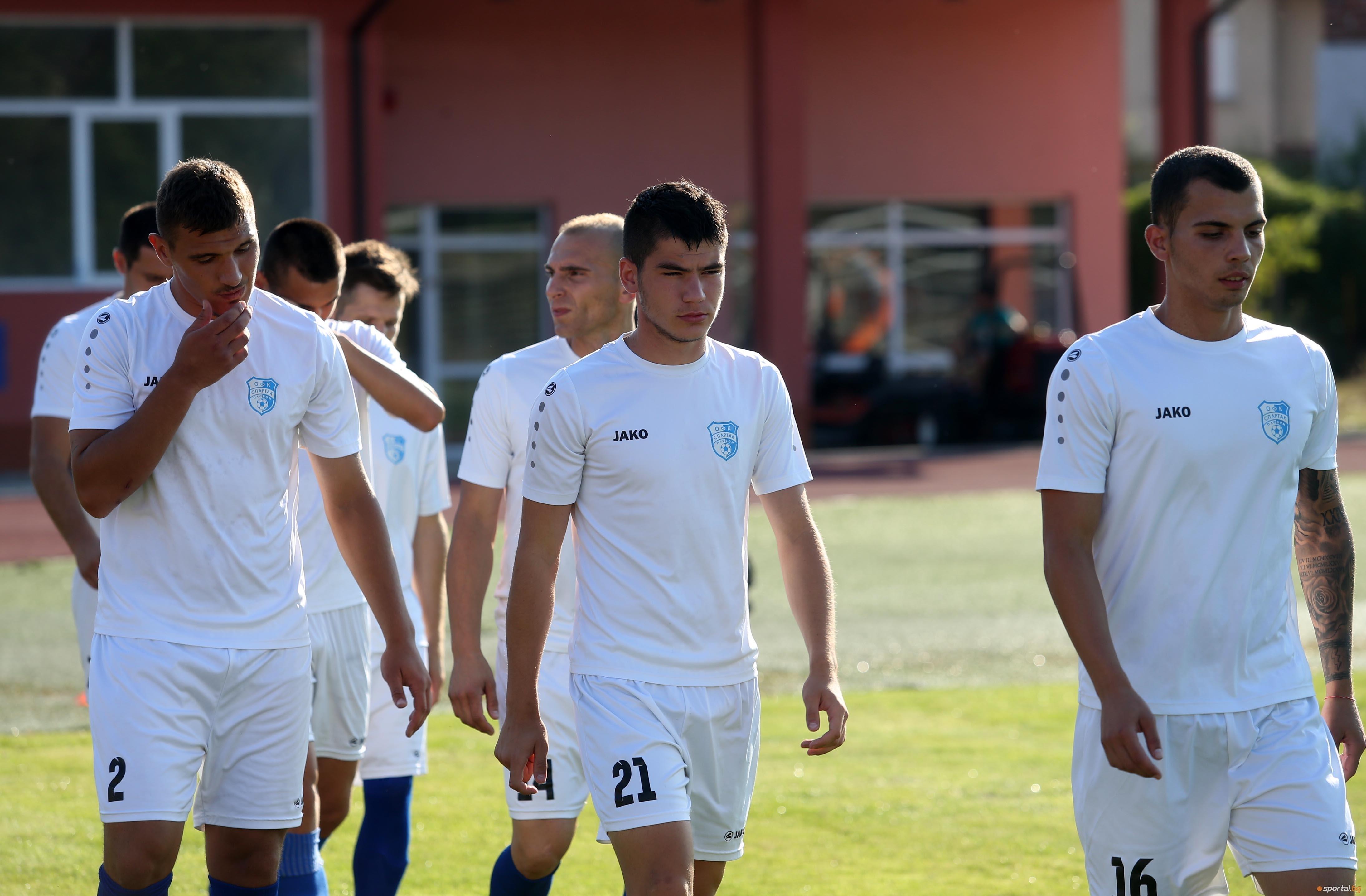 Спартак (Плевен) записа първи успех през сезона във Втора лига.