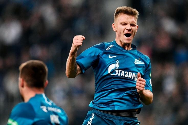 Лидерът в руската Премиер лига Зенит разгроми Рубин с 5:0