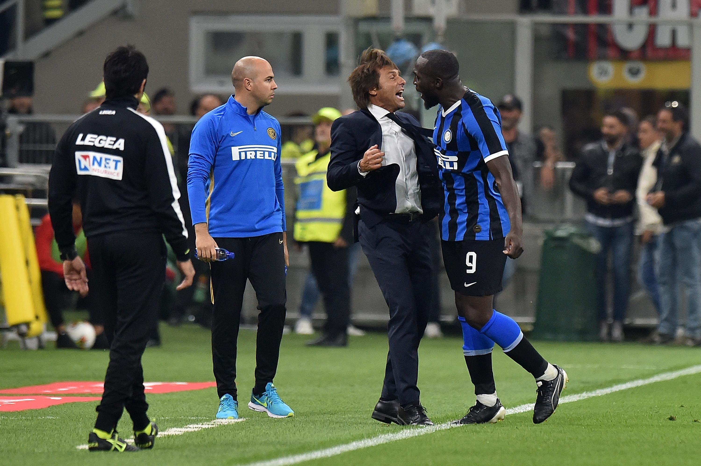 Треньорът на Интер Антонио Конте не скри радостта си от