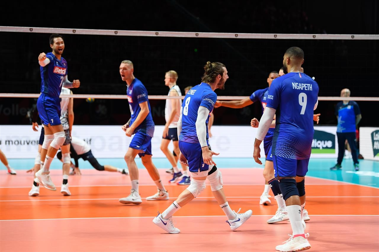 Волейболистите от националния отбор на Франция продължават с фантастичното си