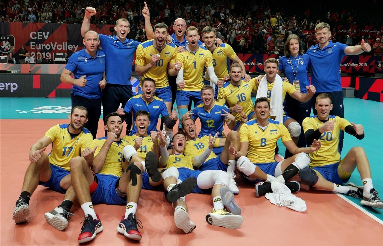 Мъжкият национален отбор на Украйна малко изненадващо стигна до 1/4-финалите