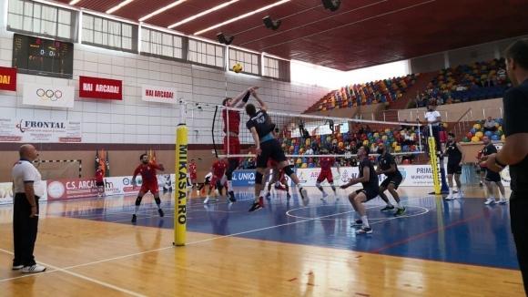 Волейболистите на Хебър (Пазарджик) продължават успешното си представяне на международния