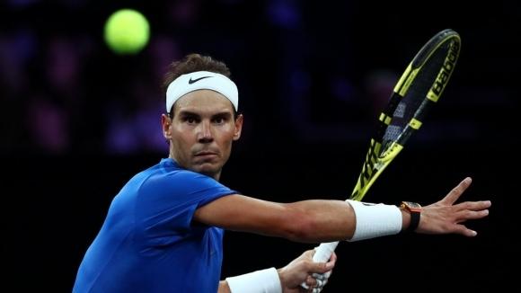 Вторият в световната ранглиста по тенис Рафаел Надал (Испания) прекрати