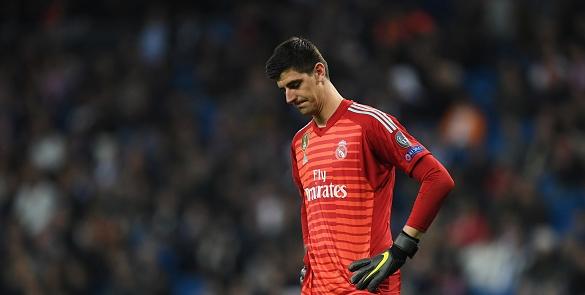 Вратарят на Реал Мадрид Тибо Куртоа предизвика усмивки в своите