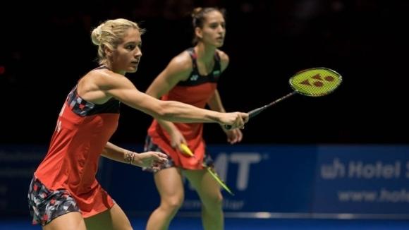 Габриела и Стефани Стоеви отпаднаха на осминафиналите на силния международен