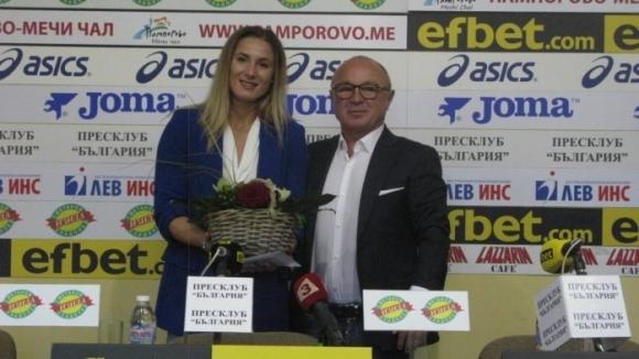 """Вчера в Пресклуб """"България"""" президентът на БФ Джудо доц. д-р"""