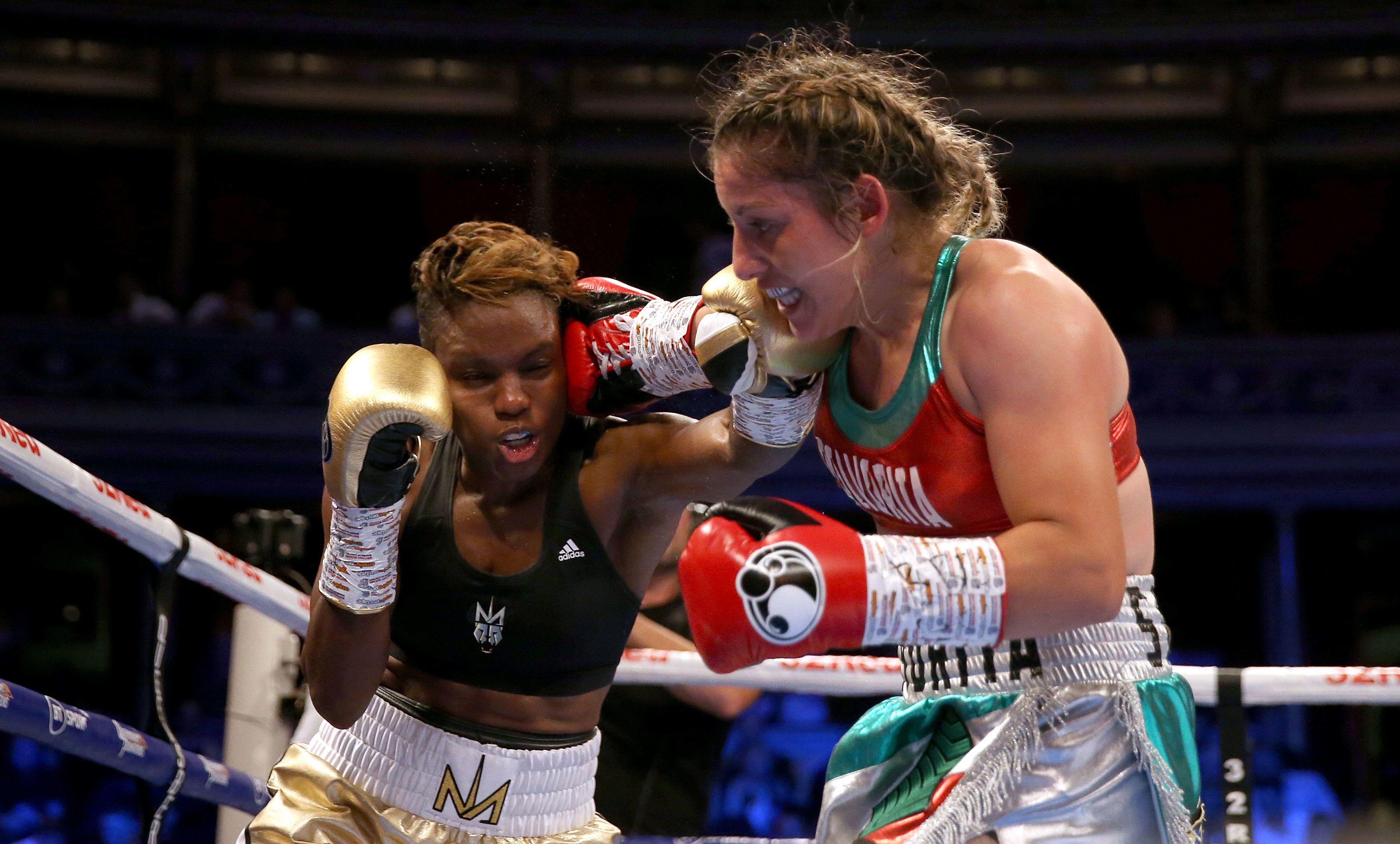 2-кратната олимпийска шампионка по бокс Никола Адамс едва не записа