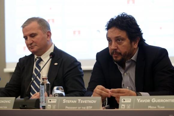 Стефан Цветков, президент на Българска федерация по тенис, беше избран