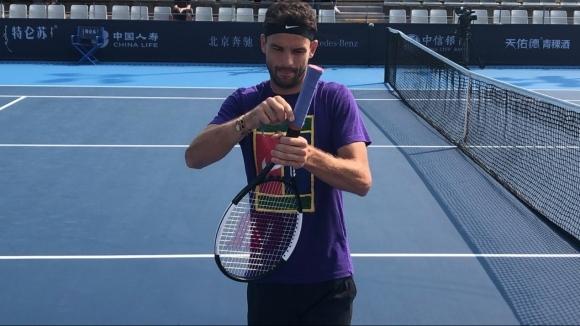 Единственият българин в тенис елита Григор Димитров започва участието си