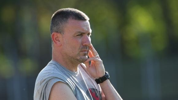 Треньорът на Янтра (Габрово) Николай Василев беше много доволен, че