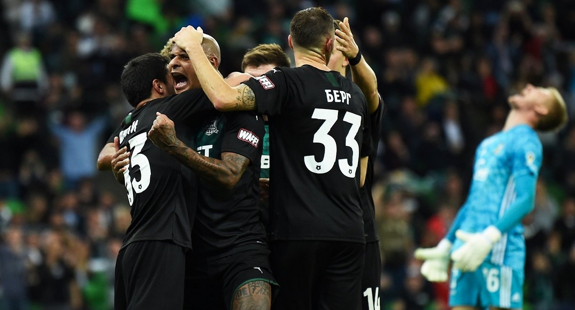 Отборът на Краснодар победи с 2:0 Арсенал (Тула) в домакинството