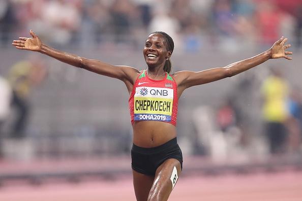 Кенийката Беатрис Чепкоеч е световна шампионка в бягането на 3000