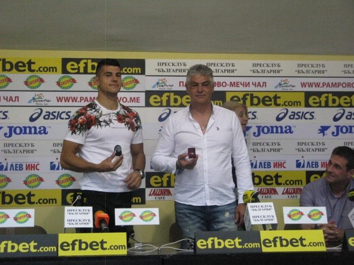 Ангел Кодинов и Николай Кодинов са Спортист №1 и Треньор