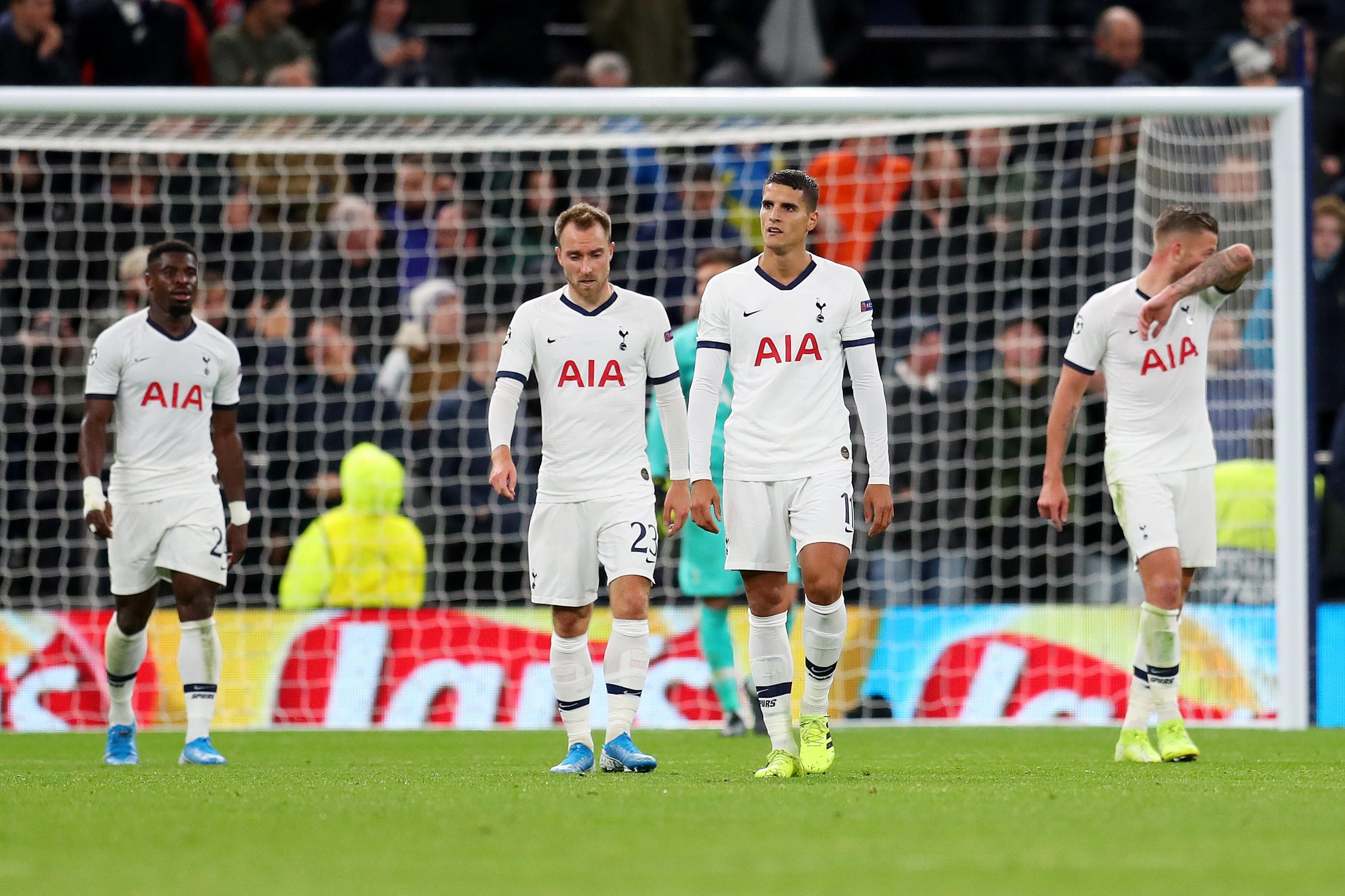 Загубата на Тотнъм от Байерн с 2:7 в Шампионската лига