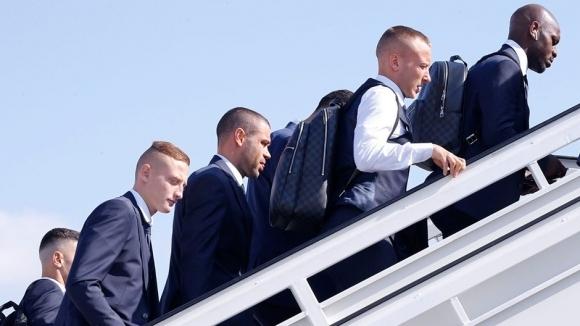 Лудогорец пристигна в Унгария, където утре ще гостува на Ференцварош