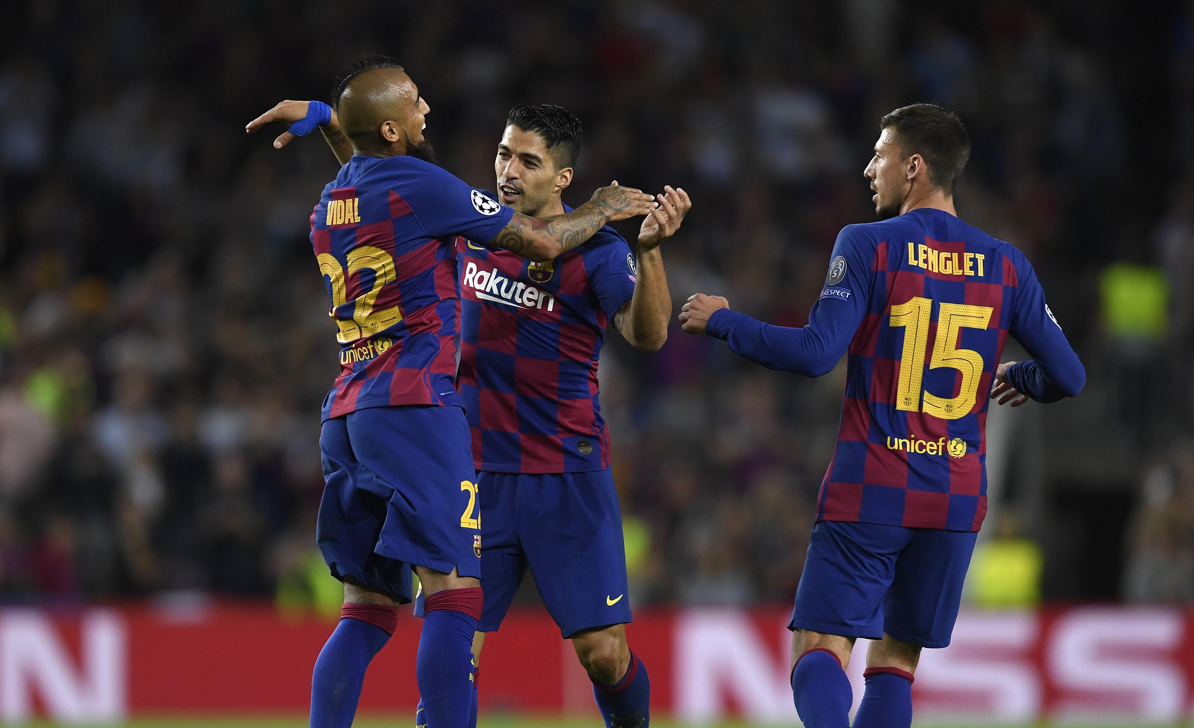 С победата си над Интер във вторник отборът на Барселона