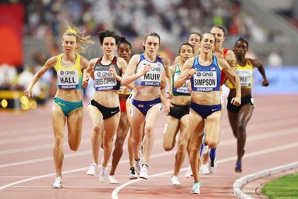 Американката Джени Симпсън влезе във финала в бягането на 1500