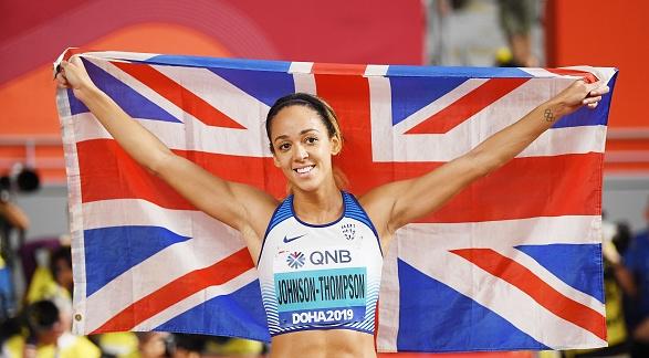 Британката Катарина Джонсън-Томпсън е новата световна шампионка в седмобоя. 26-годишната