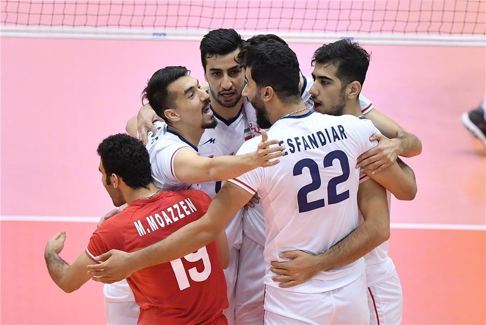 Мъжкият национален отбор на Иран записа първи успех в световната