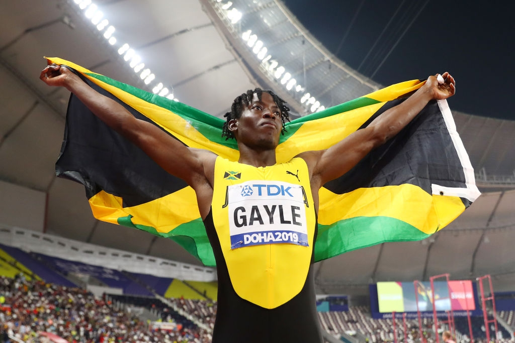 Световният шампион в скока на дължина от Дха 2019 Теджей