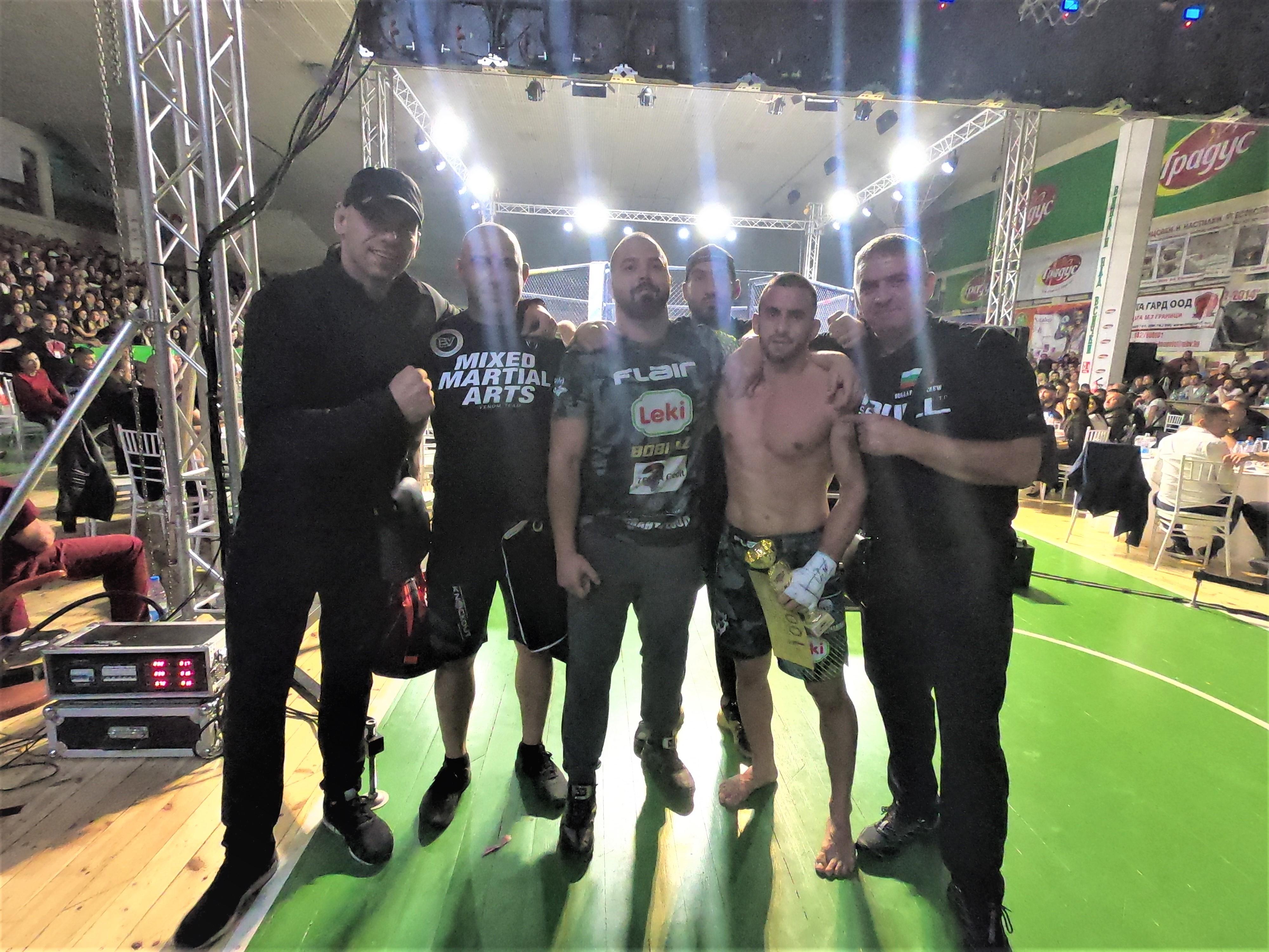 Европейският ни шампион по бойно самбо за 2016-та Валентин Бенишев