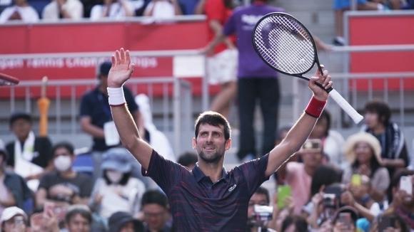 Новак Джокович спечели титлата от турнира по тенис на твърди