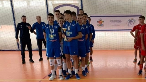 Отборът на Левски София за кадети (състезатели, родени 2003/2004 година)