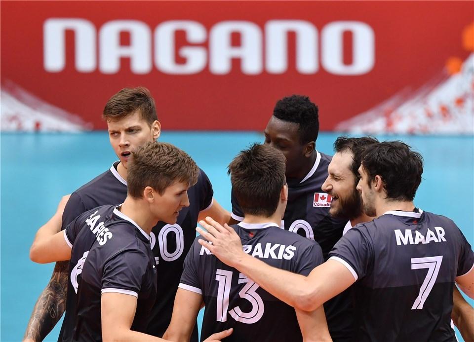 Мъжкият национален отбор по волейбол на Канада записа втори успех