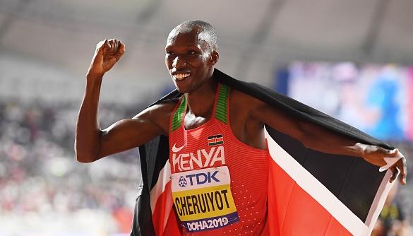 Кениецът Тимоти Черуйот е новият световен шампион в бягането на