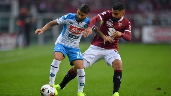 Отборите на Торино и Наполи завършиха наравно 0:0 в двубой