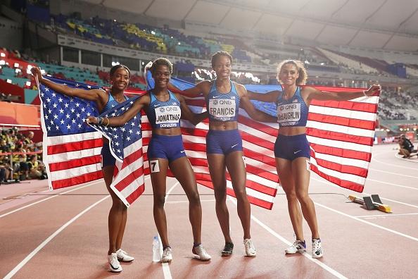 Щафетата на САЩ взе титлата на 4 по 400 метра