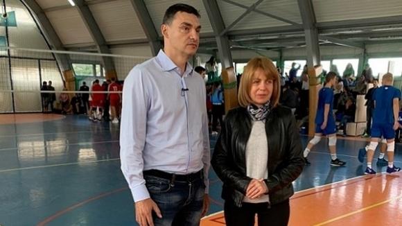 Столичният кмет Йорданка Фандъкова уважи втория турнир от поредицата