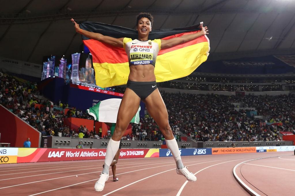 Малайка Михамбо спечели световната титла в скока на дължина в