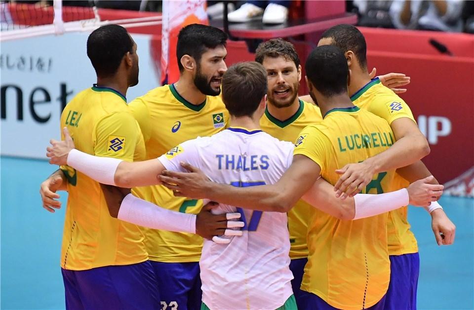 Олимпийските шампиони от Рио 2016 от Бразилия продължават победната си