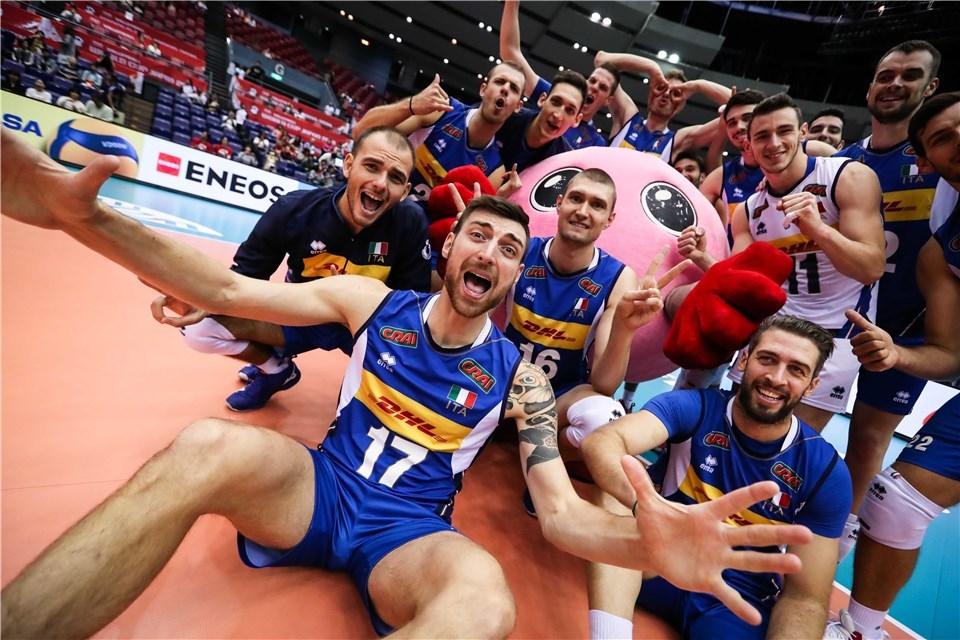 Мъжкият национален отбор на Италия записа нов успех в световната