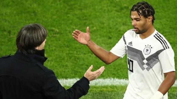 И срещу Аржентина Серж Гнабри не пропусна да демонстрира отличната