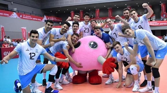 Мъжкият национален отбор на Аржентина по волейбол се завърна на