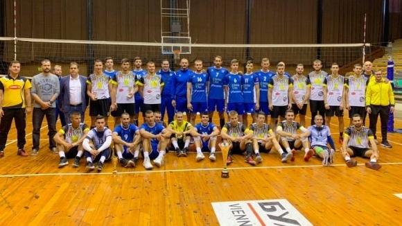 Мъжкият волейболен отбор на Левски София спечели 19-ото издание на