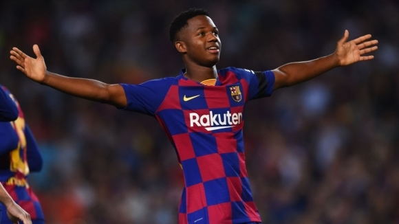 Младият талант на Барселона Ансу Фати вече може да играе
