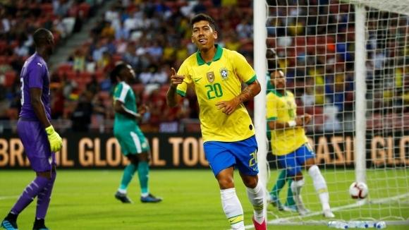 Бразилия и Сенегал завършиха 1:1 в приятелски двубой, игран в