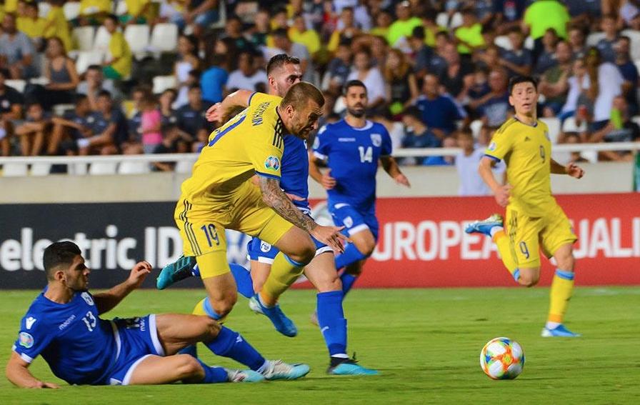 Кипър обърна Казахстан от 0:1 до 2:1 като гост в