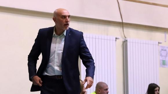 Старши тгреньорът на мъжкия баскетболен Берое (Стара Загора) Любомир Минчев