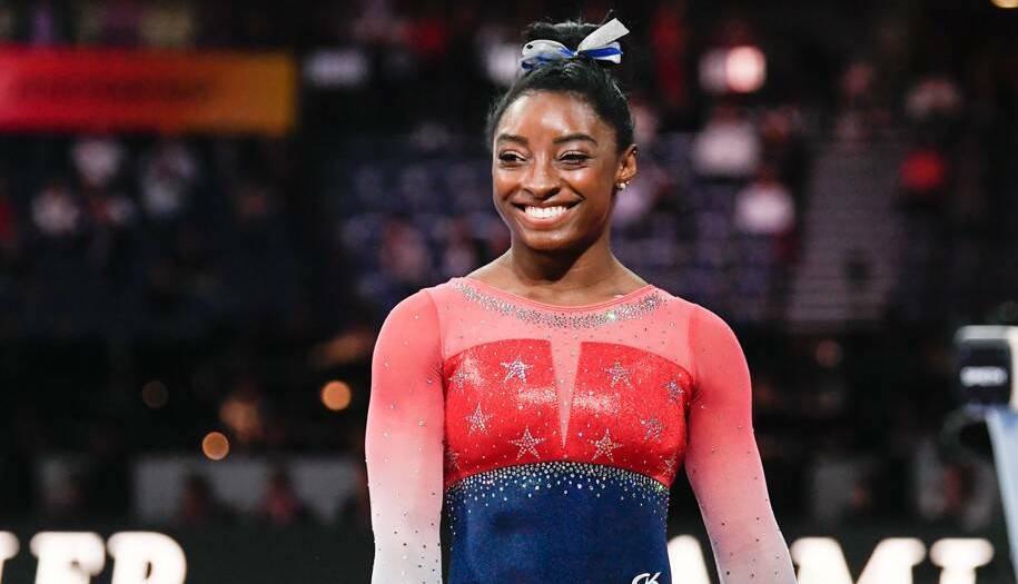 Олимпийската шампионка Симон Байлс от САЩ стана първата гимнастичка в