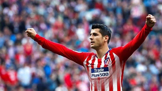 Нападателят на Атлетико Мадрид Алваро Мората е оптимист, че в