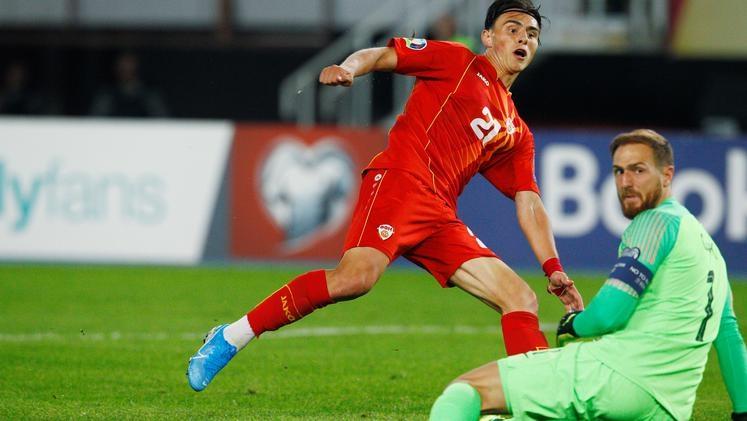 Новата звезда на македонския футбол Елиф Елмас се превърна в