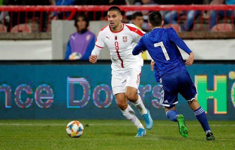 Сърбия победи с 1:0 Парагвай в контрола, а успеха донесе